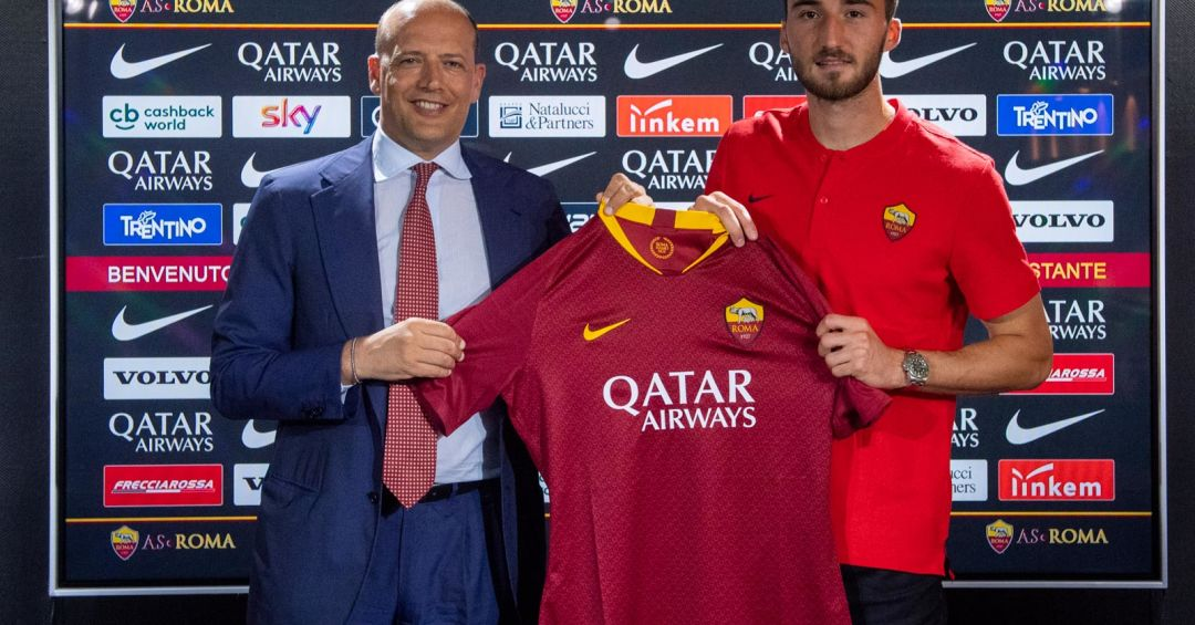 Bryan Cristante joins Roma